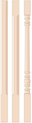 Wood Baluster Options