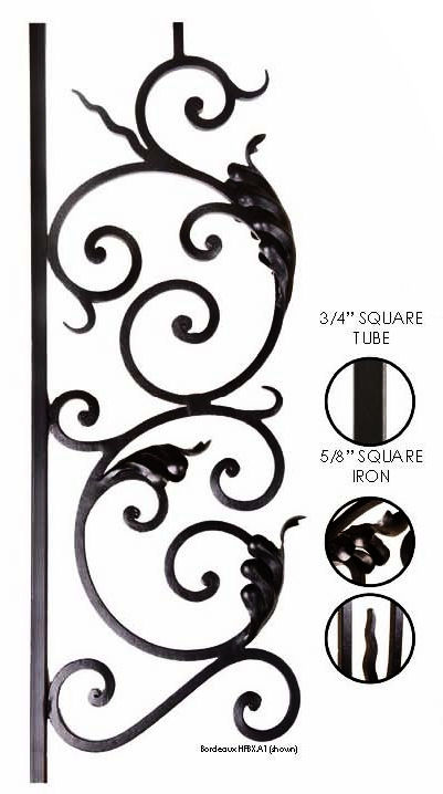 Bordeaux 19mm Panels by House of Forgings
