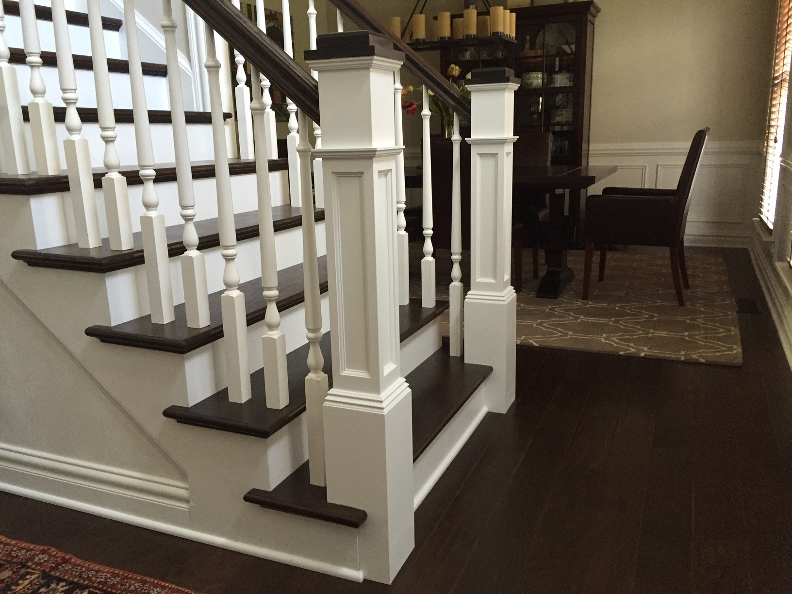 Box Newel Post Photo Gallery