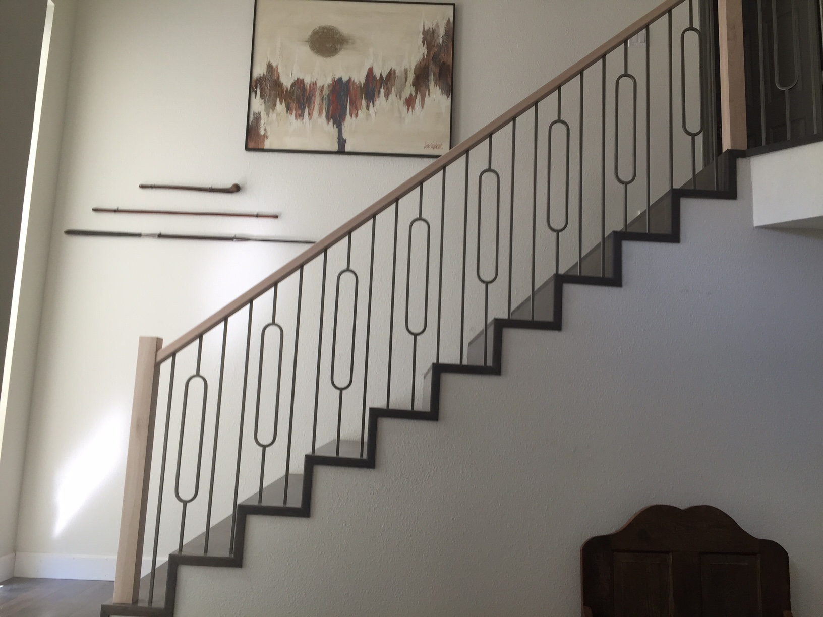 Chris Holman Staircase with 4002 Newel Posts
