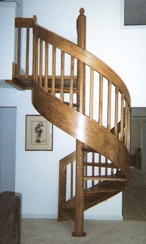 Contempo-Pak 3 Spiral Staircase