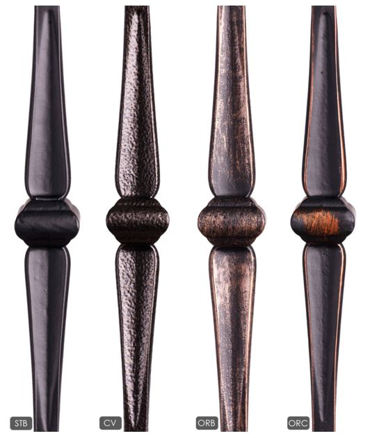 Gothic Knuckle Stair Balusters