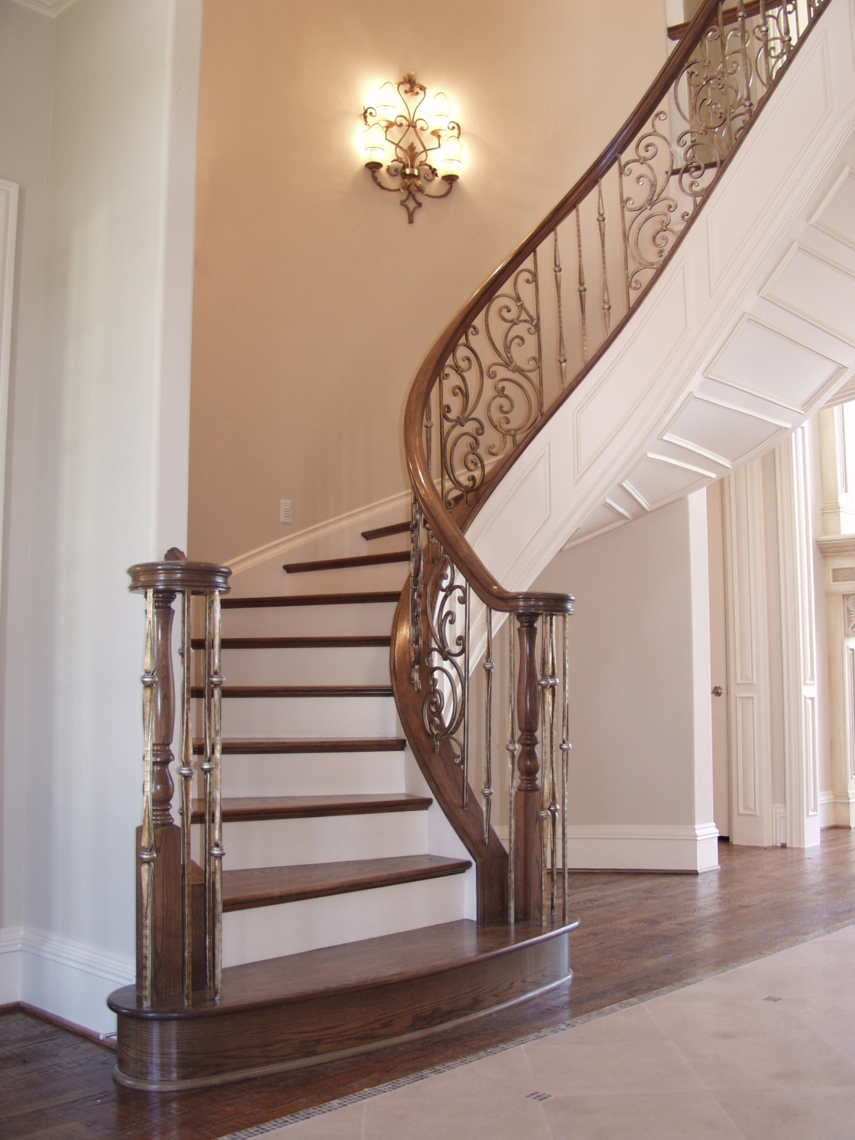 Gothic Staircase with Panels