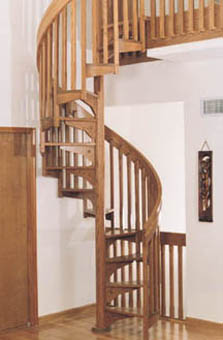 Stair-Pak Spiral Staircase